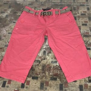 Sanctuary Shorts - SANCTUARY :: Coral 🌺 Distressed Bermudas Size 26